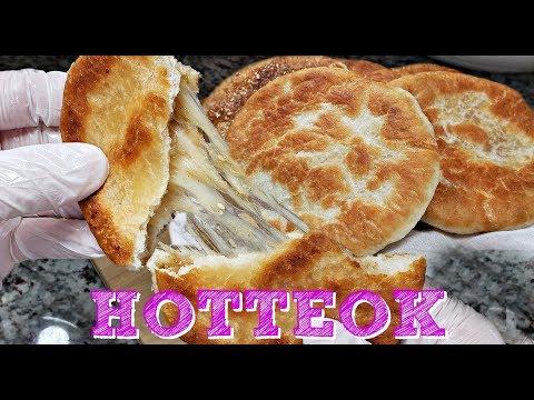 My Mother In Law s Hotteok Recipe Korean Street Food Recipe Korean Sweet Fried Pancakes