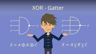 XOR Gatter - Digitaltechnik einfach erklärt