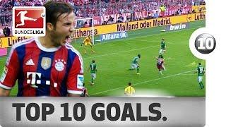 Top 10 Goals 2014 World Cup Winners