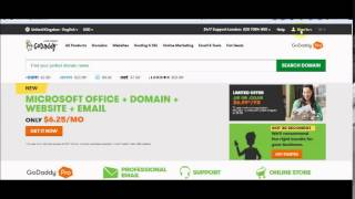 Setting up DNS(connecting) domain name (from Godaddy) to a web hosting (from Siteground)