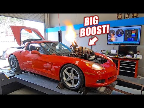 The Auction Corvette Goes Back on the Dyno Will the NEW Junkyard Engine Hold