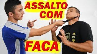 COMO TOMAR UMA FACA EM UM ASSALTO, Defesa Pessoal contra Faca, Kung Fu Artes Marciais Chinesa