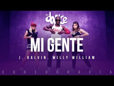 Mi Gente  - J. Balvin, Willy William   FitDance Life (Coreografía) Dance Video mp3