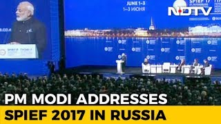 PM Modi's Speech at St. Petersburg International Economic Forum