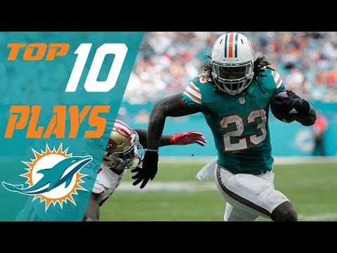 watch Dolphins Top 10 Plays of the 2016 Season | NFL Highlights