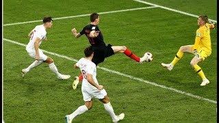 Mario Mandzukic WINNER! Croatia 2-1 England   11/07/2018 World Cup Semi-Final