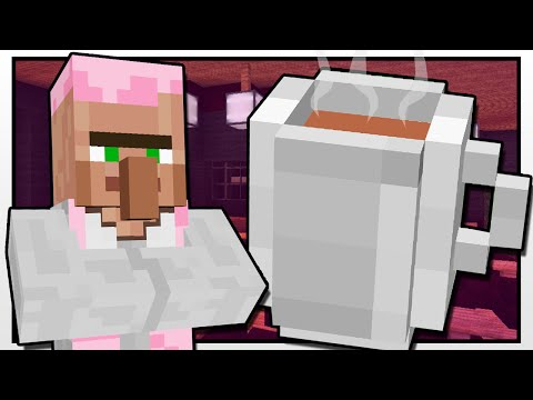 Minecraft DR TRAYAURUS COFFEE SHOP Custom Mod Adventure
