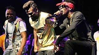 Samini & Shatta Wale smoke peace pipe @ Saminifest '16 | GhanaMusic.com Video
