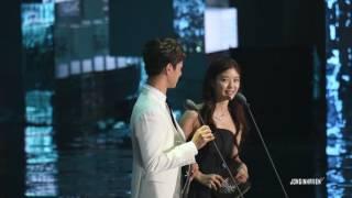 161202 MAMA Park Bogum and Kim Yoojung