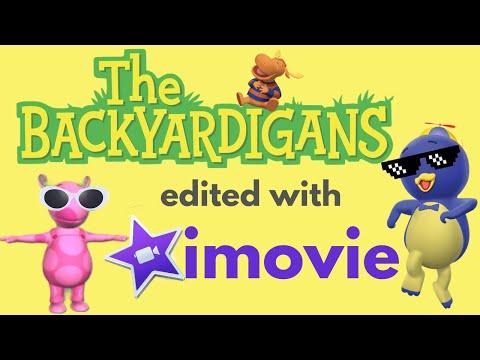 if backyardigans was edited with imovie