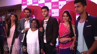 Abhi, Praghya, Kartik, Sid and Angoori bhabhi at Ditto tv launch