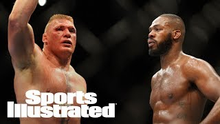 Brock Lesnar On Potential Jon Jones Superfight: 'Anytime, Anywhere' | SI Wire | Sports Illustrated