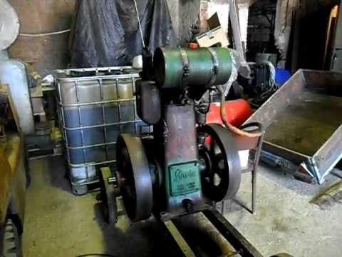 Stabilní motor Slavia 8 HP