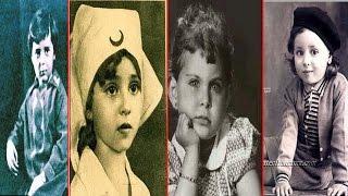 صور نادرة من طفولة فنانين الزمن الجميل - 100 صورة نادرة لن تصدق ما بها