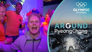 The Holland House is the place to watch Dutch Speed Skating | Around PyeongChang