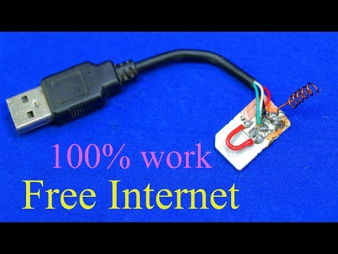 How to get free Internet FREE INTERNET on any SIM card everywhere you go 100 work