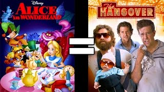 24 Reasons Alice in Wonderland & Hangover Are The Same Movie