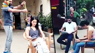 VIRAL : Sunny Leone pranked with LIVE snake!   Hot Tamil Cinema News