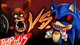 FOXY VS SONIC.EXE | EPIC BATTLE | KRONNO ZOMBER | ( Videoclip Oficial )