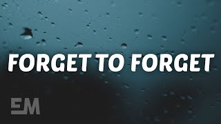 SHY Martin - Forget To Forget (Lyrics)