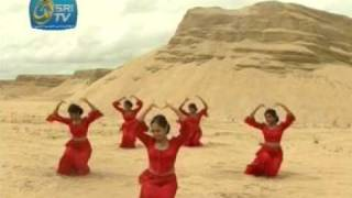 Srilankan Song and dancers on the beach