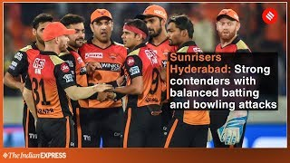 Indian Premier League 2019 | Why Sunrisers Hyderabad are Strong contenders for IPL 2019