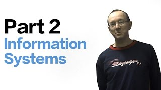 VCE Computing Key Terms Part 2 - Information Systems