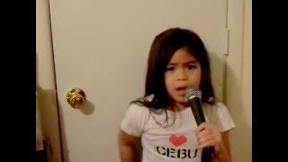 LISTEN-BEYONCE- 6 year old girl sings