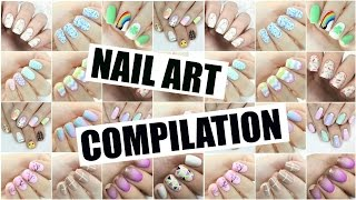 Nail Art Compilation | The Nail Trail | March 2016