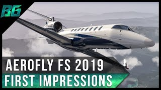 AeroFly FS 2019 First Impressions | New Mobile Flight Simulator