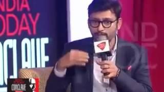 RJ Balaji Kiran Bedi Speech about Jallikattu on India Today Conclave South 2017