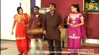 Stage Drama Hussan Diyan Mithian 2012 - PUNJABI STAGE SHOW Part 5