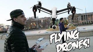 FLYING DRONES!!!!