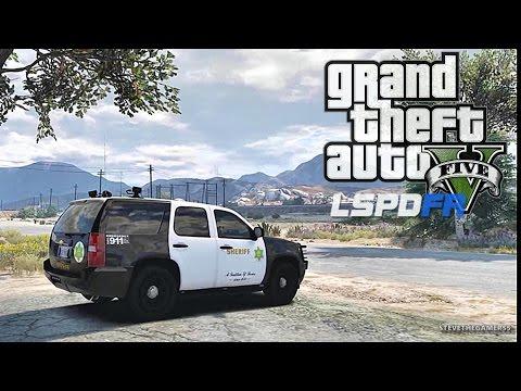 GTA 5 LSPDFR 0.3.1 - EPiSODE 123 - LET'S BE COPS - SHERIFF PATROL (GTA 5 PC POLICE MODS)