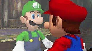 Another Super Mario 3D - 100% Walkthrough Part 6 - Saving Luigi From King Boo's Grave