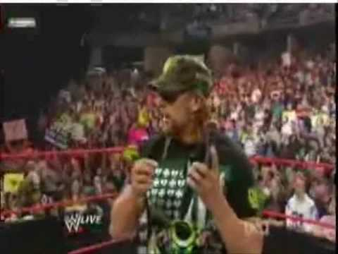 Shawn Michaels Singing His Voicemail