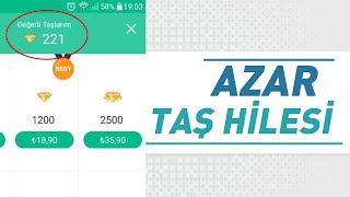 Azar Bedava Taş Hilesi (En Garanti Yöntem) 2018