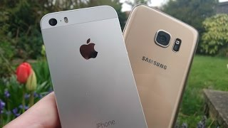 iPhone SE vs Samsung Galaxy S7 - Camera Test!