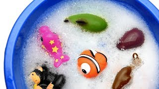 Learn Sea Animal and Wild Zoo Animals Names Education Video Toys For Kids
