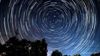 North Star (STAR TRAILS) Time-lapse HD!