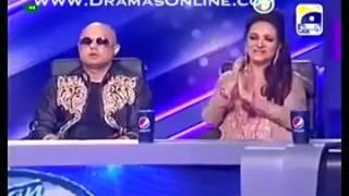 Abida Parveen in Pakistan Idol singing ghoom charakhra   YouTubevia torchbrowser com