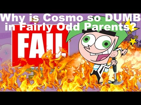Why is Cosmo so DUMB in Fairly Odd Parents? [OUTDATED THEORY]