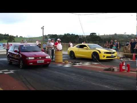 Camaro SS X Gol GTi 16v Turbo 201 mts HD