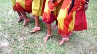 কারাম পূজার নাচ, কারাম উৎসব-২০১৬, সৌজন্যেঃ আদিবাসী ছাত্র পরিষদ