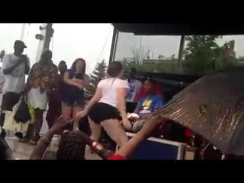 Finally a white girl dances better than black girl