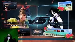 Aris Plays Tekken 7 Ranked w/ Josie - Running Before the Promotion Huh