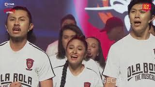 LUAR BIASA The Cast of OlaBola Musical featuring Altimet at AF Megastars