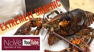 EXTREMELY GRAPHIC: Lobster Cantonese (Chinese Inspired)