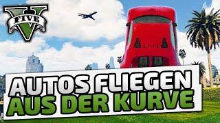 Autos fliegen aus der Kurve - ♠ GTA V Online Season 2 ♠ - Let