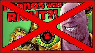 Film Theory: Thanos Was RIGHT!! Avengers (Infinity War) Debunk Mothers Basement was wrong!